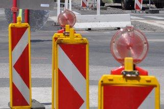 Neue baustellenbedingte Straßensperren