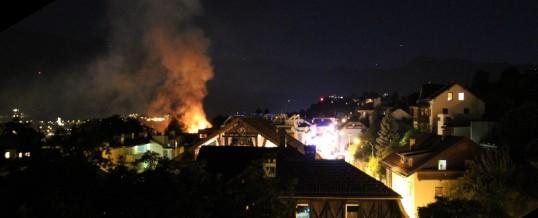 Medienberichte zum Brand in der Schneeburggasse