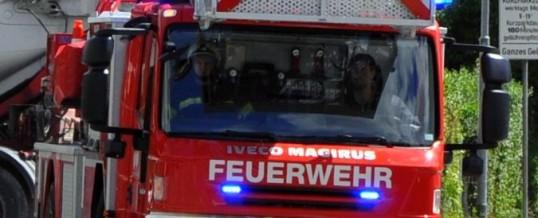 Zwei Brandmeldealarme