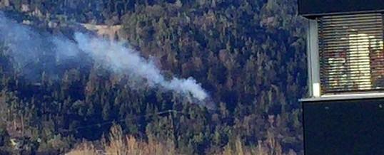 Waldbrand Kranebitten