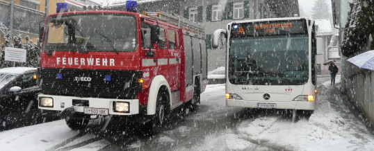 Technischer Einsatz – Brandjochstraße
