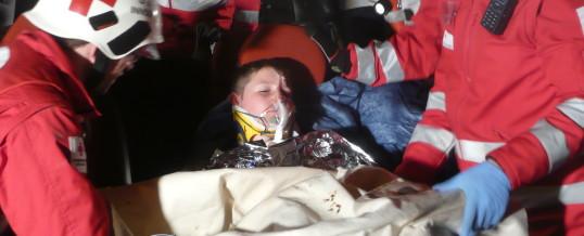 Übung mit Rettung Innsbruck