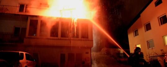 Wohnungsvollbrand