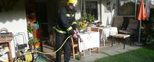 Gemeldeter Gebäudebrand